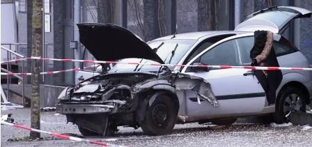 Allemagne: Une voiture fonce dans un arrêt de bus: Un mort et une dizaine de blessés