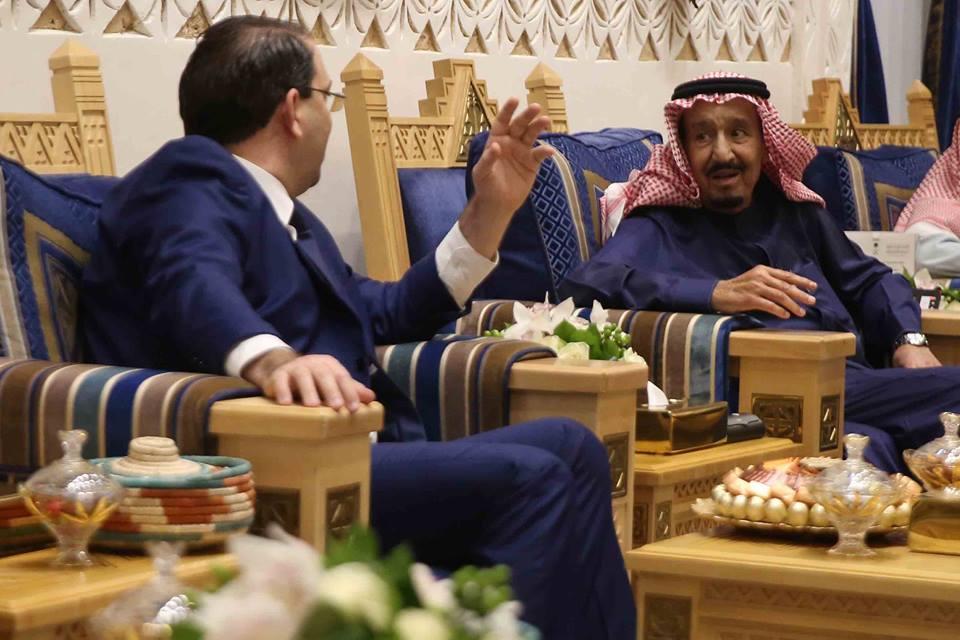 Tunisie: Soutien financier saoudien de 2450 millions de dinars lors de la visite de Youssef Chahed