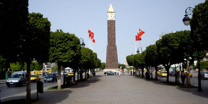 Tunisie- Des mesures exceptionnelles à l'avenue Habib Bourguiba en raison de la grève générale