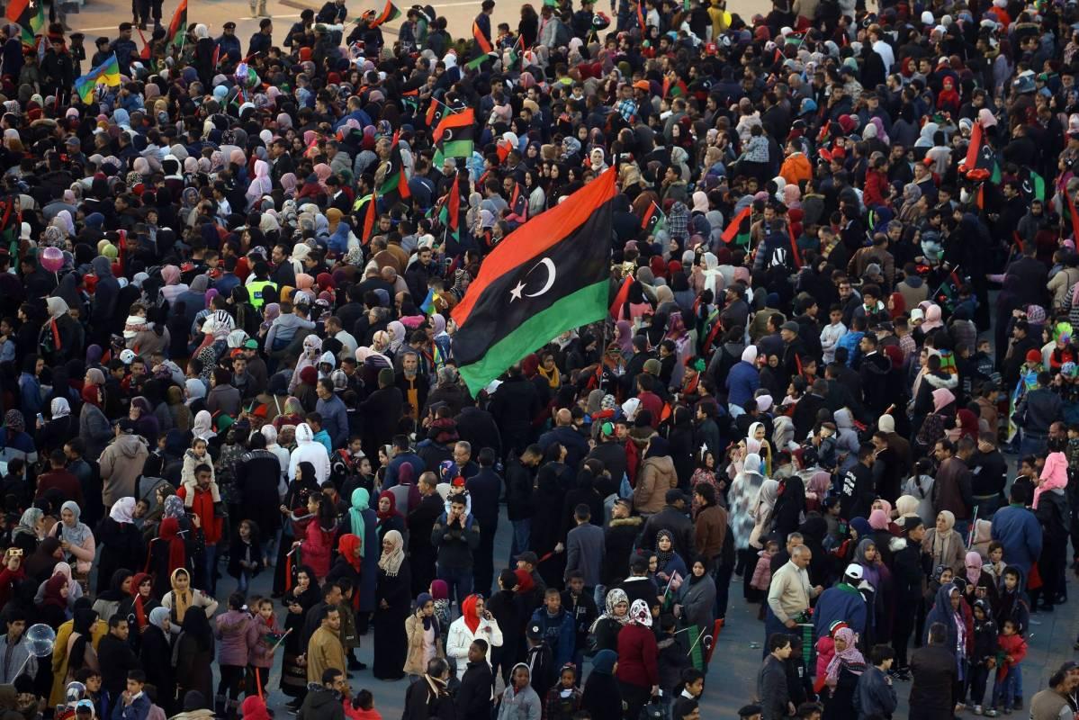 Libye- Huitième anniversaire de la Révolution libyenne