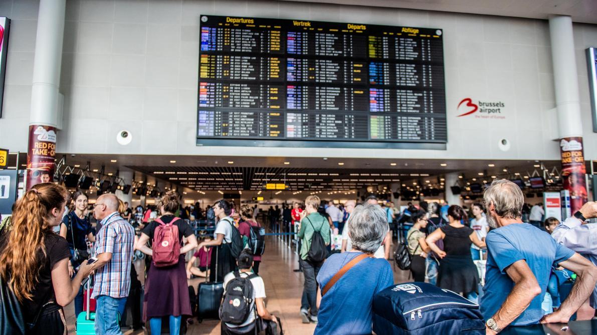 Une grève générale paralyse le pays — Belgique