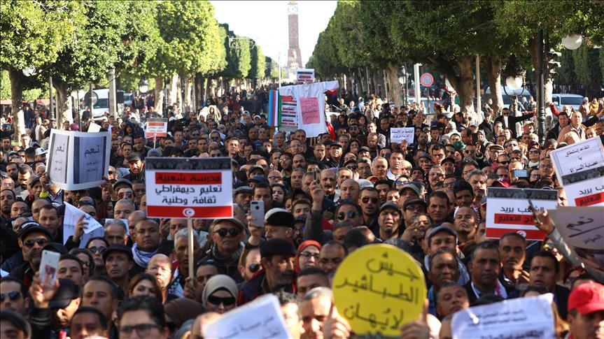 Tunisie: La question des retenues sur les salaires des enseignants, objet de pourparlers entre le gouvernement et l'UGTT