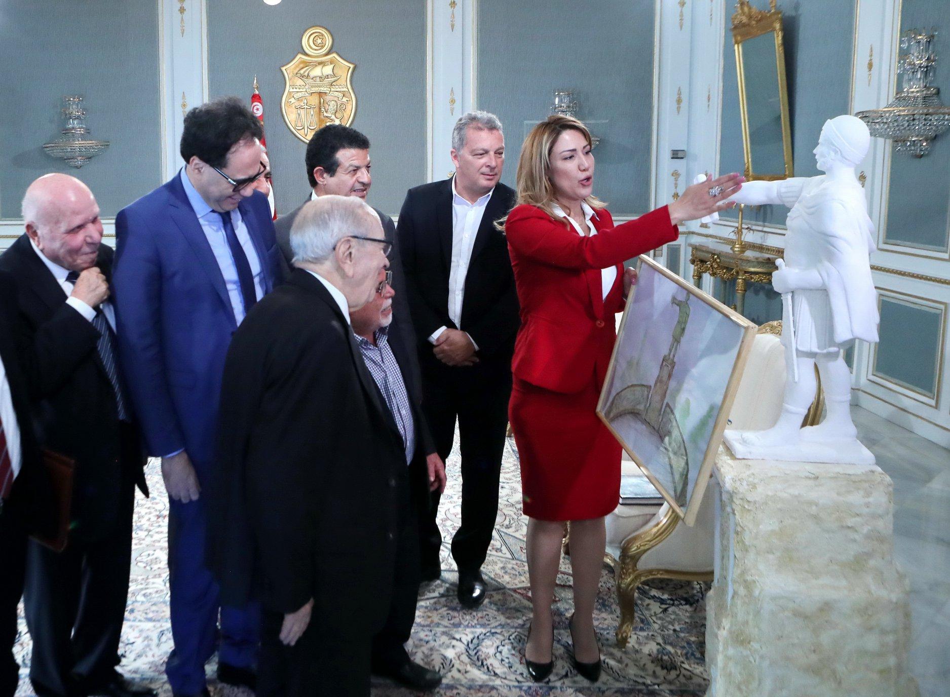 Tunisie- Le projet de statue du leader carthaginois Hannibal  présenté à BCE