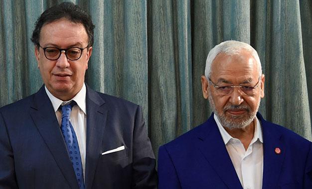 Tunisie- Ghanouchi et Hafedh Caid Sebsi discutent la situation politique de la Tunisie