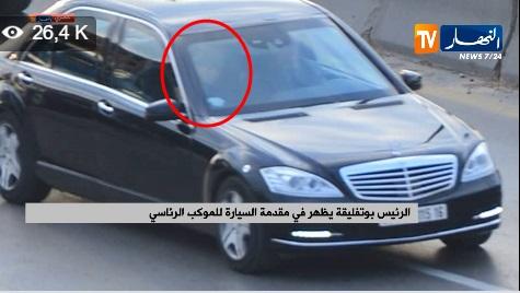 VIDEO: Première apparition de Bouteflika après son retour à Alger