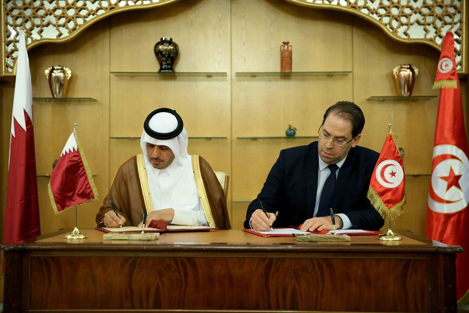 Signature de dix accords et mémorandums d'entente entre la Tunisie et le Qatar