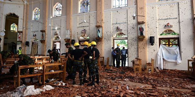 Sri Lanka- Le bilan des victimes s'alourdit et le gouvernement décrète une journée de deuil national