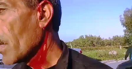 Tunisie – Vidéo: Cinq sécuritaires blessés lors des affrontements avec des manifestants à Sidi Bouali
