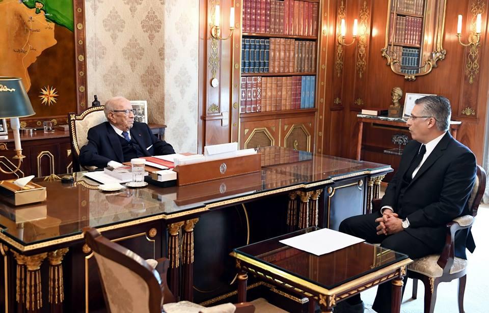 Tunisie: Nabil Karoui chez Béji Caïed Essebsi