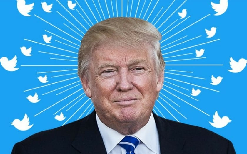 Trump se fait taper sur les doigts par Twitter