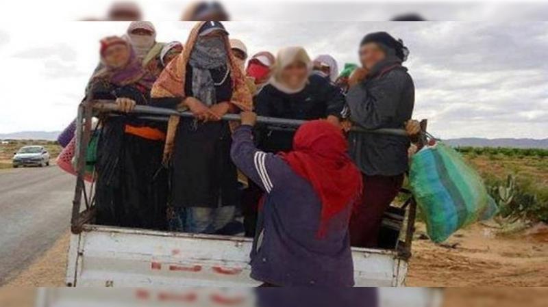 Tunisie-Saisie de trois camions transportant 55 ouvrières agricoles