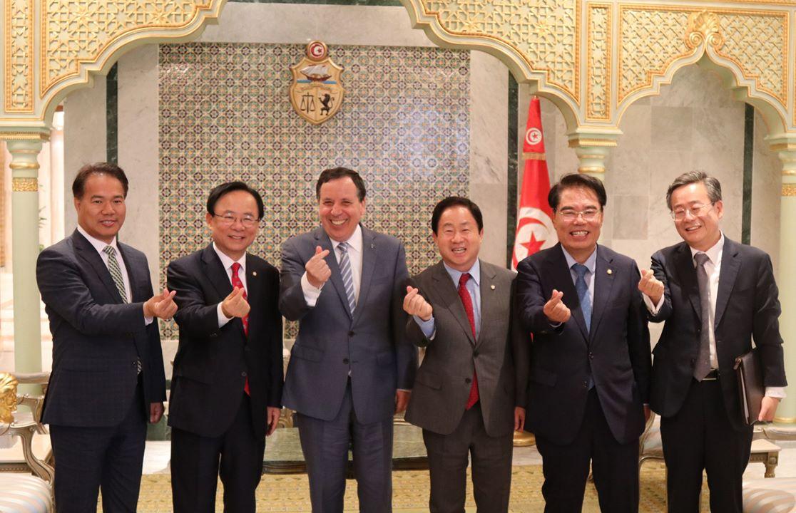 Tunisie- Création d'une chambre de commerce entre la Tunisie et la Corée du Sud