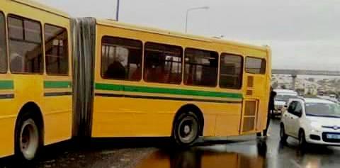 Tunisie – Mellassine: Onze blessés dans le dérapage d'un bus de la Transtu