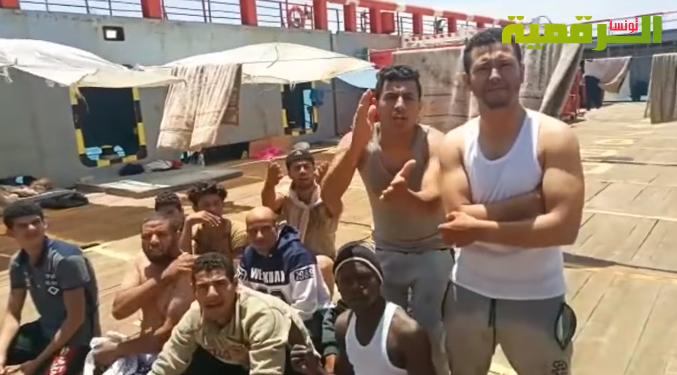 Tunisie – AUDIO: Des médecins du croissant rouge retenus en otage par les clandestins u large de Zarzis