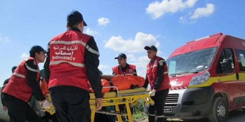Tunisie: Un mort et trois blessés dans le renversement d'un camion de transport d'ouvriers