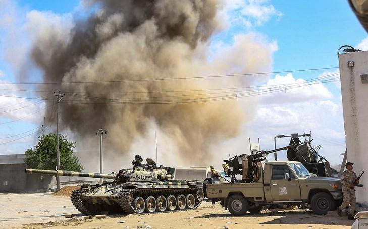 Les troupes de Khalifa Haftar acculées — Libye