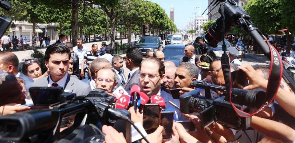 Attentat terroriste- Le discours de Youssef Chahed