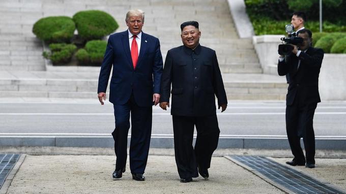 """Corée du Nord- """"La rencontre entre Trump et Kim Jong-un est historique et extraordinaire"""""""