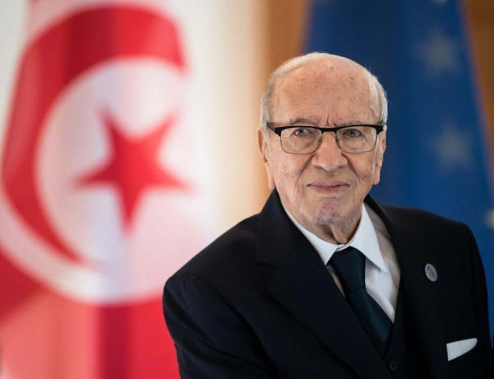 Suivez les funérailles du président Essebsi, en présence d'Emmanuel Macron — Tunisie