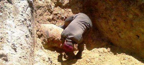 Tunisie – Découverte de cinq obus