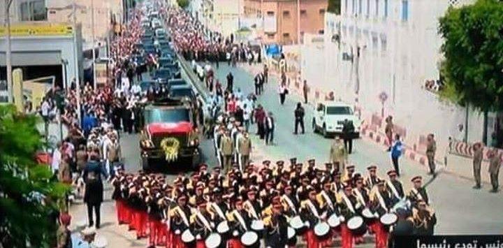 Tunisie – Organisation des funérailles: Mention très honorable à l'armée nationale