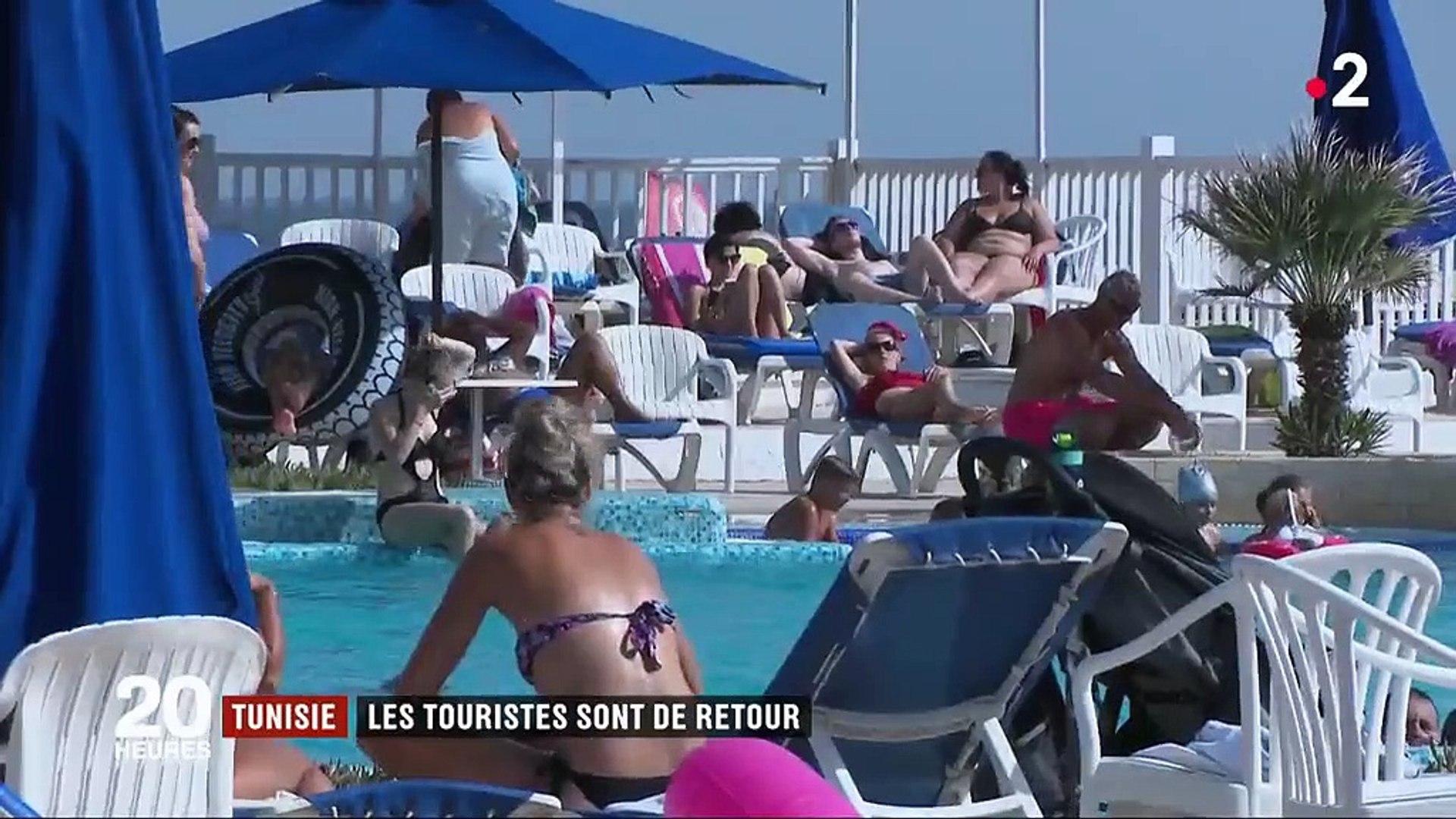 """Tunisie-Reportage France 2 """" Tunisie : les touristes sont de retour"""""""