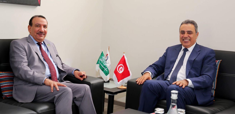 Tunisie- Mehdi Jomâa reçoit l'ambassadeur d'Arabie Saoudite