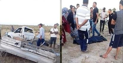Tunisie – Sidi Bouzid: 3 morts dans un énième accident à sebbala