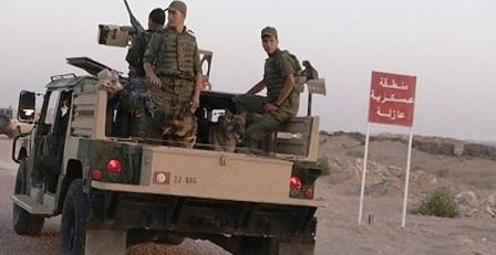 Tunisie – L'armée nationale avertit les citoyens à propos des zones militaires fermées