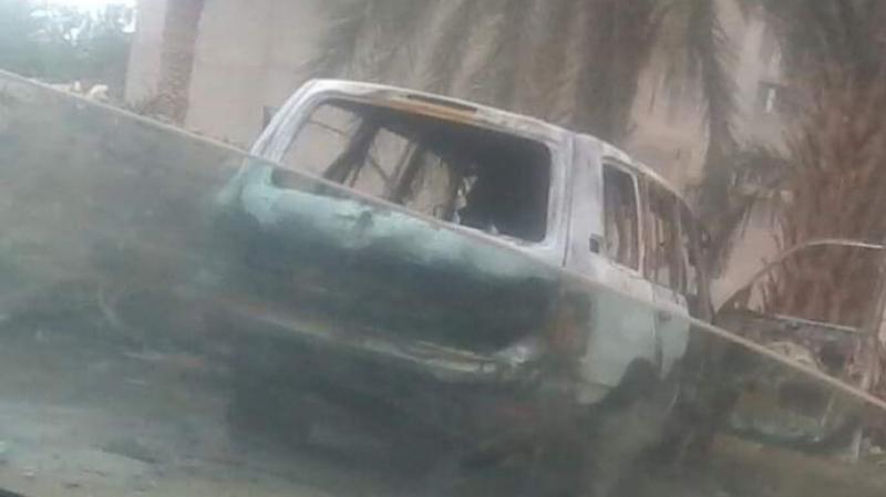 Tunisie: L'incendie de la voiture d'un douanier revendiqué par le groupe Jound Al Khilafa