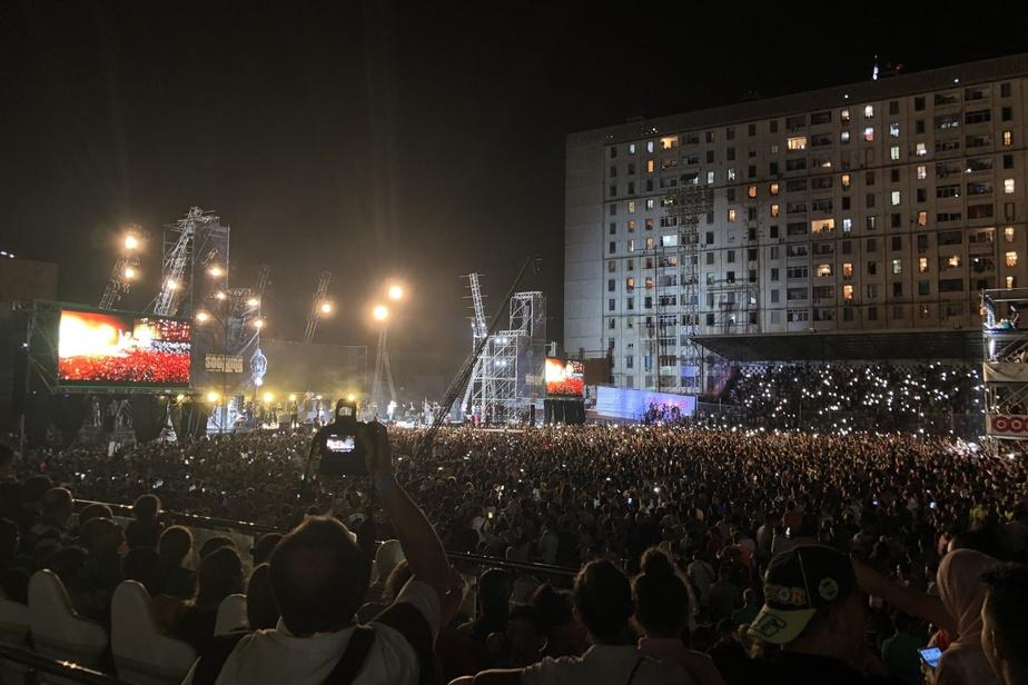 Bousculade mortelle lors d'un concert — Algérie
