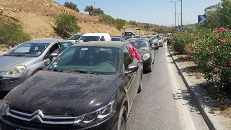 Tunisie: Interruption de la circulation sur la route Tunis-Bizerte en raison de manifestants