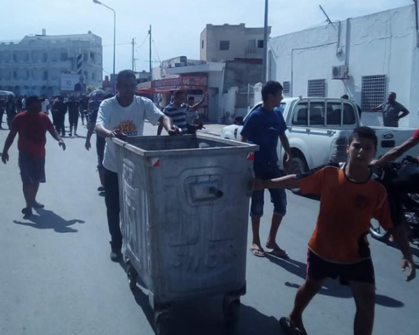 Tunisie- Les manifestations reprennent à Sidi Bouali dans le gouvernorat de Sousse