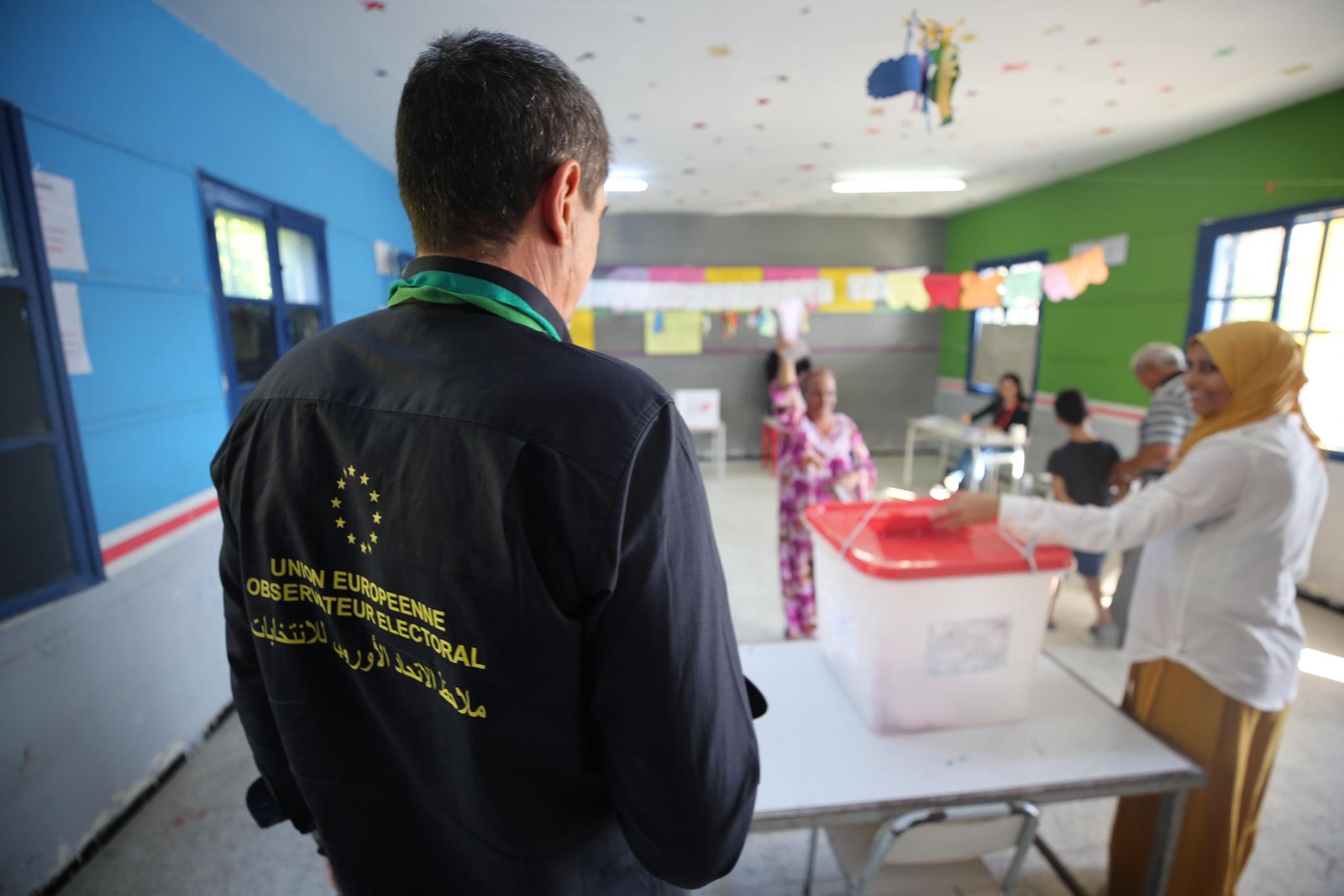 Tunisie-[photos]La mission d'observation électorale de l'Union européenne (MOE UE) déploie 75 observateurs