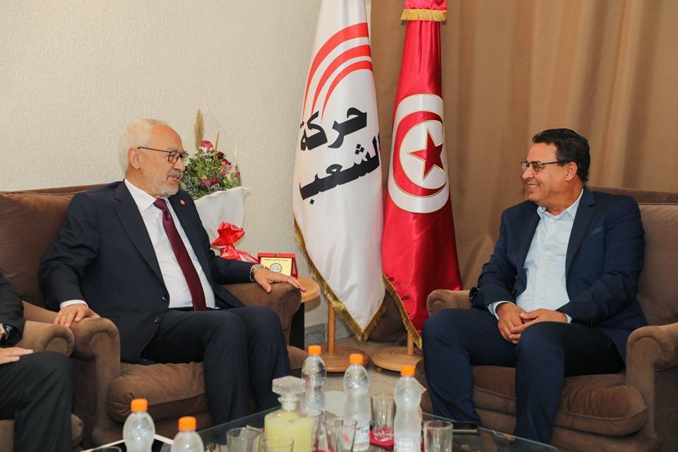 Tunisie – Le «mouvement du peuple» refuse de participer à un gouvernement formé et présidé par Ennahdha