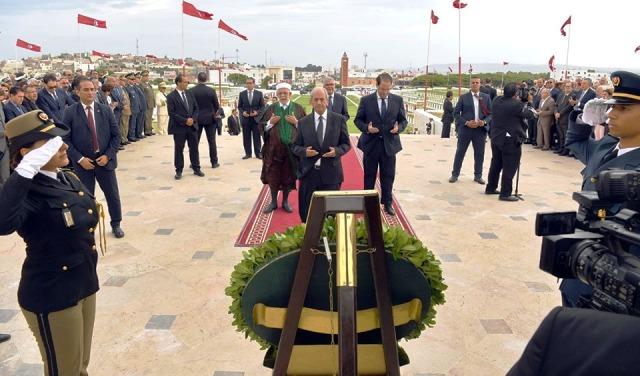 Tunisie – VIDEO: Bizerte: Ennaceur, Chahed et Mourou président la cérémonie du 15 octobre