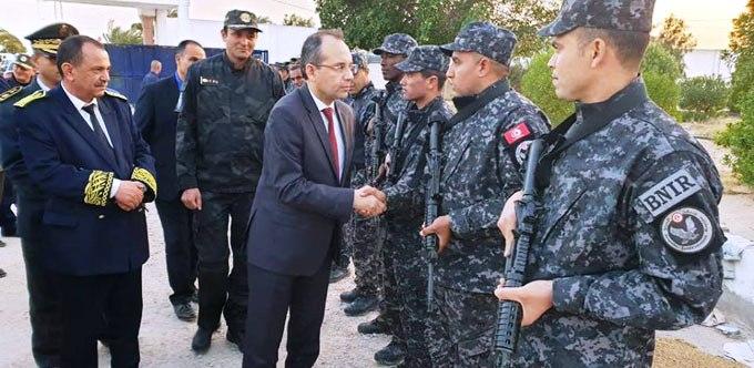 Tunisie – Fourati félicite les forces de l'ordre pour avoir collaboré à la réussite des élections