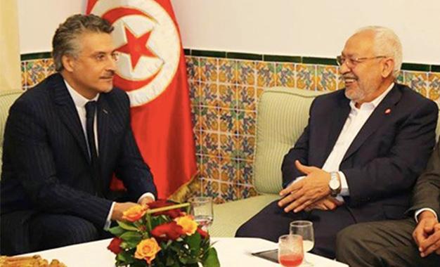 Tunisie- Rached Ghanouchi commente la situation de Nabil Karoui