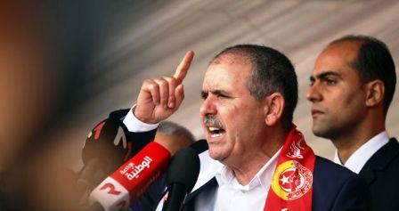 Tunisie – La position de l'UGTT à propos du prélèvement d'une journée de salaire proposée par Kaïs Saïed