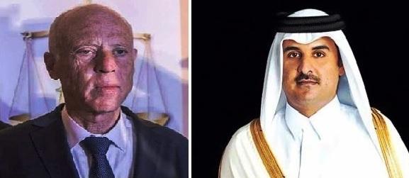 Tunisie – Le prince Tamim du Qatar félicite Kaïs Saïed