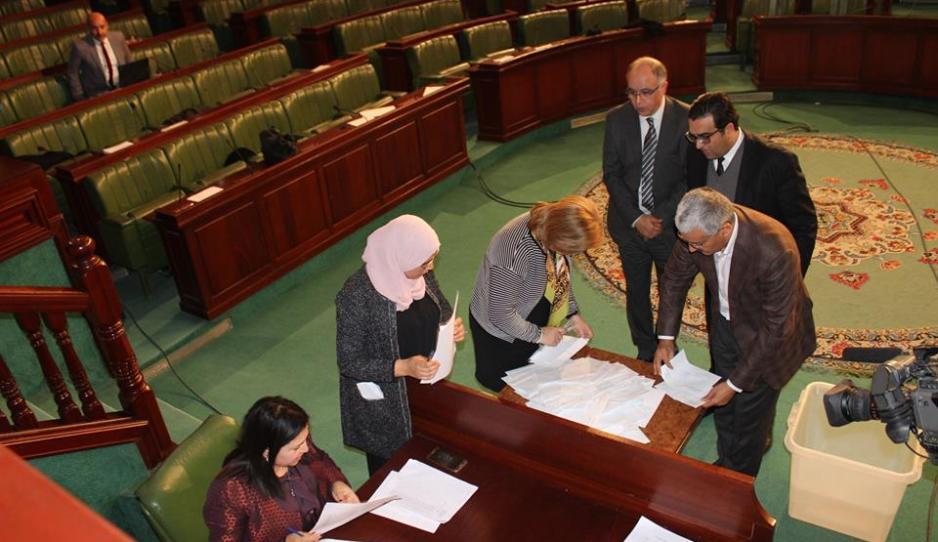 Tunisie: Election du président de l'ARP début du dépouillement après le vote des 217 députés