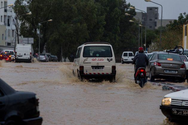 Tunisie-Intempéries: Mise en garde du ministère de l'Intérieur aux usagers de la route
