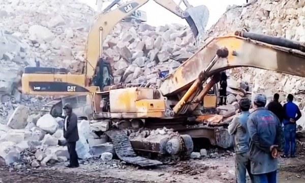 Tunisie: Ouvrier sorti indemne de l'effondrement d'une carrière de pierres, raconte son sauvetage