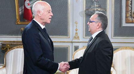 Tunisie – Kaïs Saïed reçoit le ministre de la Justice et de la Défense par intérim