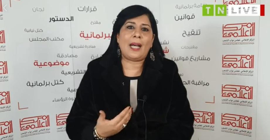 Tunisie: Abir Moussi lance un défi à Mohamed Gharyani