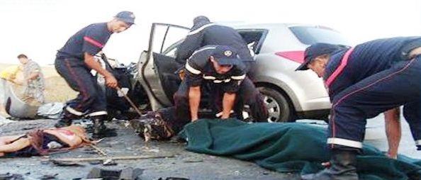 Tunisie – Kebili: Un officier de police décédé et trois autres blessés dans un accident de la route