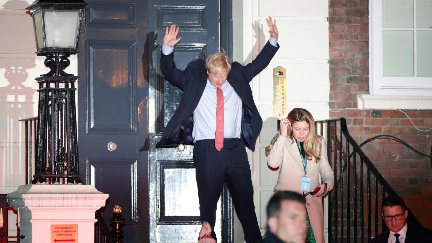 Grande Bretagne: Boris Johnson remporte la majorité absolue au Parlement