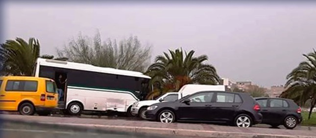 Tunisie – Nouvel accident de bus à Tunis