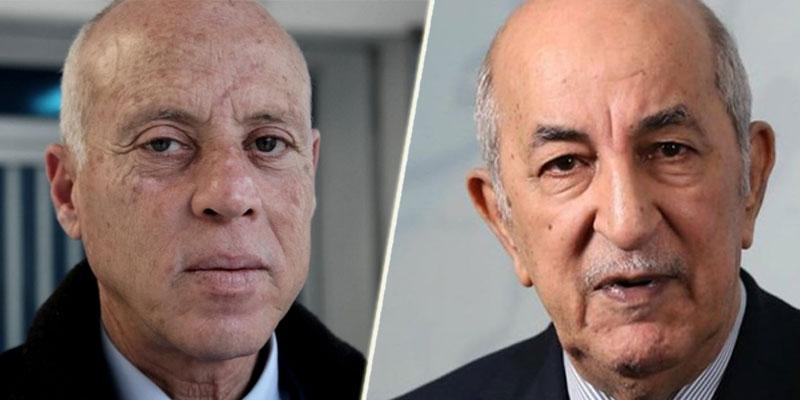 Tunisie: Kaïs Saïed félicite le président algérien élu