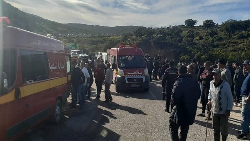 Tunisie: Liste nominative des victimes de l'accident de bus à Amdoun